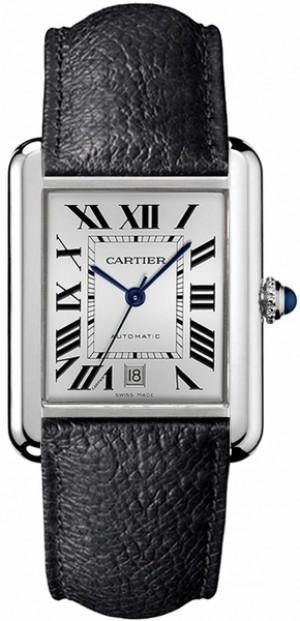 Cartier Tank Solo Silver Dial Men's or Women's Watch WSTA0029