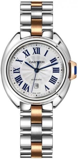 Cartier Cle De Cartier 31mm Luxury Women's Watch W2CL0004