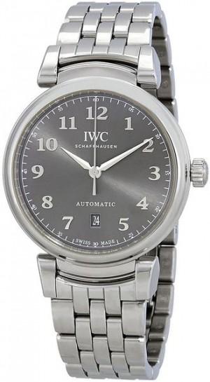 IWC Da Vinci Automatic Grey Dial 40MM Men's Watch IW356602