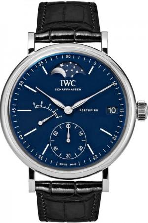 IWC Portofino Hand-Wound Moon Phase 150 Years Men's Watch IW516405