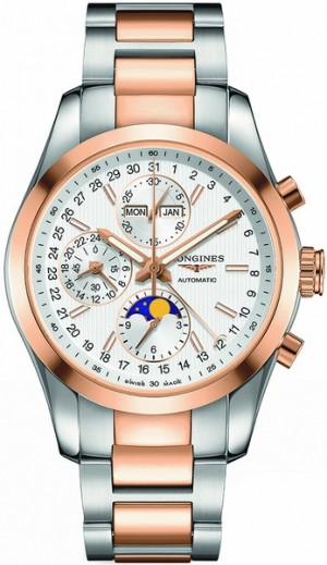 Longines Conquest Classic Silver Dial Men's Luxury Watch L2.798.5.72.7