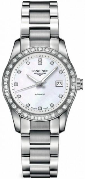Longines Conquest Diamond Women's Watch L2.285.0.87.6
