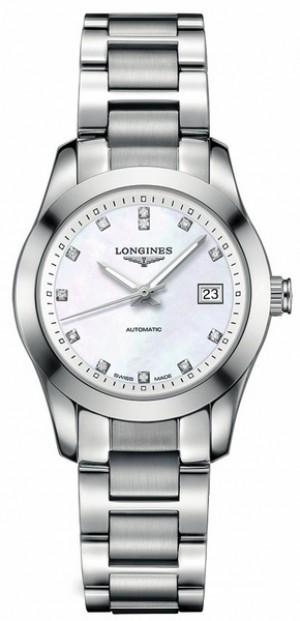 Longines Conquest Caliber L595 Women's Dress Watch Watch L2.285.4.87.6