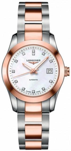 Longines Conquest Women's Diamond Watch L2.285.5.87.7
