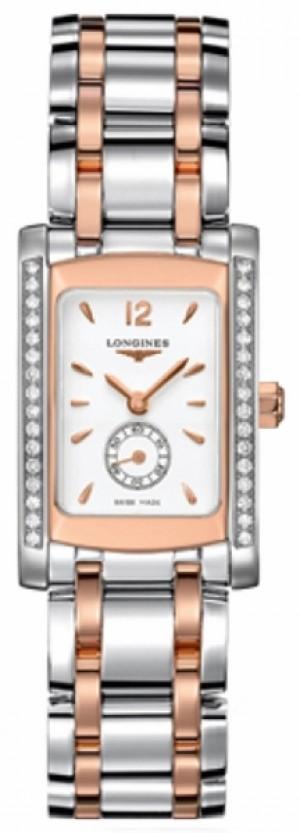 Longines DolceVita Diamond Luxury Watch L5.155.5.19.7