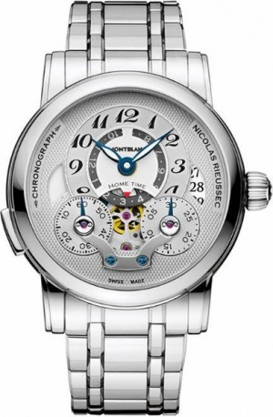 MontBlanc Nicolas Rieussec Chronograph Automatic Men's Luxury Watch 107068