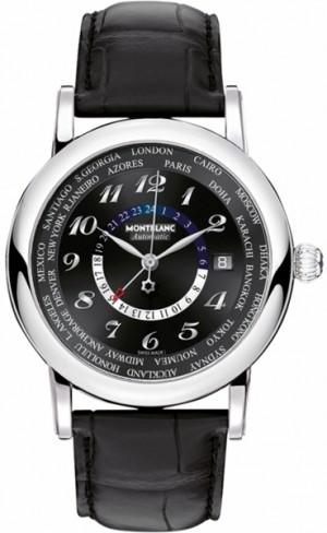 MontBlanc Star Black Dial Men's Watch 109285