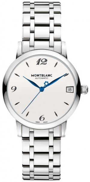 MontBlanc Star Classique Silver Dial Women's Automatic Watch 111591