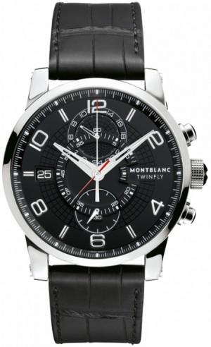 MontBlanc TimeWalker Chronograph Men's Watch Save 105077