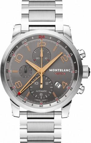MontBlanc TimeWalker Automatic Chronograph Grey Dial Men's Watch 107303