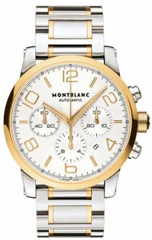 MontBlanc TimeWalker Chronograph 43mm Men's Watch 107320