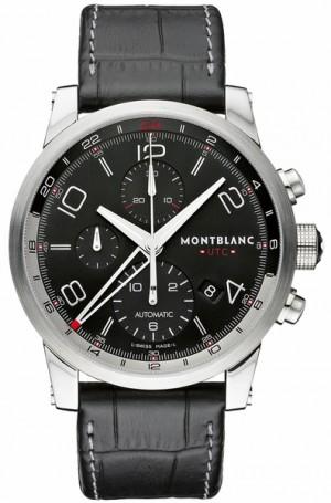 MontBlanc TimeWalker Chronovoyager UTC Automatic Men's Watch 107336
