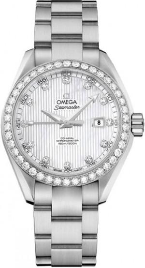 Omega Seamaster Aqua Terra Diamond Women's Watch 231.15.34.20.55.001