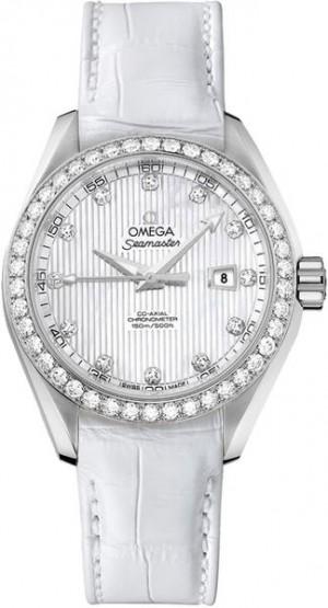 Omega Seamaster Aqua Terra Diamond Women's Watch 231.18.34.20.55.001