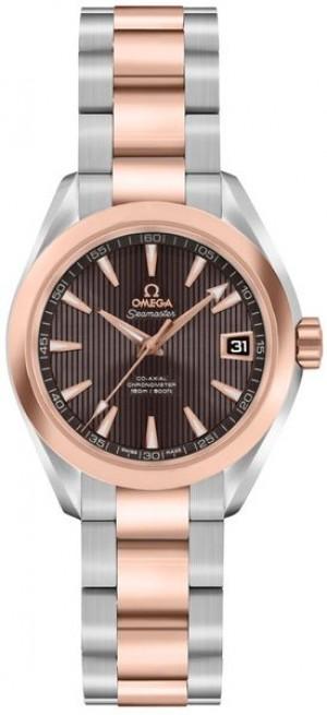 Omega Seamaster Aqua Terra Rose Gold & Steel Women's Watch 231.20.30.20.06.001