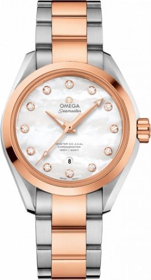 Omega Seamaster Aqua Terra Diamond Dial Women's Watch 231.20.34.20.55.001