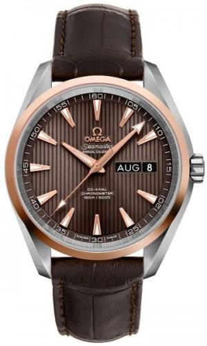 Omega Seamaster Aqua Terra Brown Dial Men's Watch 231.23.43.22.06.002