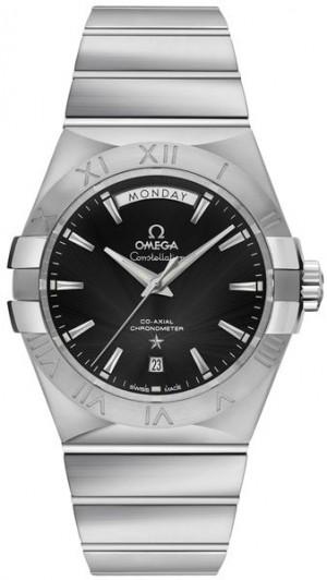 Omega Constellation Black Dial Men's Luxury Watch 123.10.38.22.01.001