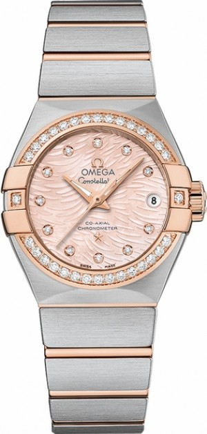 Omega Constellation Diamond Women's Luxury Watch 123.25.27.20.57.004