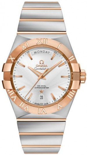Omega Constellation Day-Date 38mm Men's Watch Sale 123.25.38.22.02.001