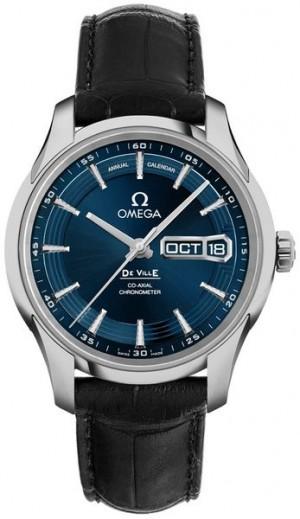Omega De Ville Blue Dial Annual Calendar 41mm Men's Watch 431.33.41.22.03.001