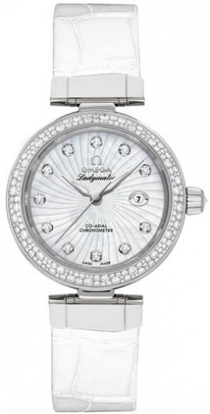 Omega De Ville Ladymatic 34mm Women's Watch 425.38.34.20.55.001