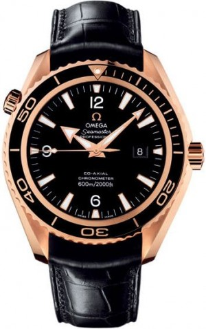 Omega Planet Ocean 600M Co-Axial 45.5mm Rose Gold Men's Watch 222.63.46.20.01.001