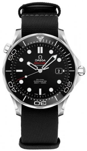 Omega Seamaster 36.25mm Black Dial Watch 212.30.36.20.01.002