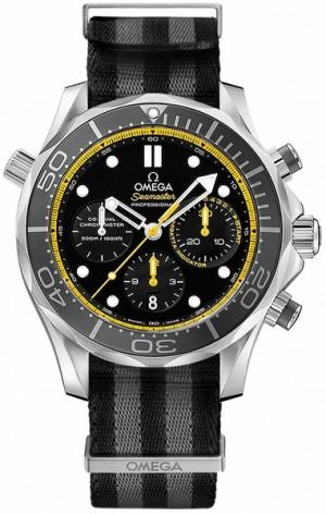 Omega Seamaster Men's Chronograph Watch 212.30.44.50.01.002