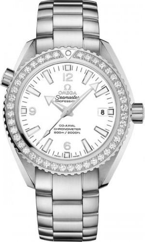 Omega Seamaster Planet Ocean Diamond Bezel Luxury Watch 232.15.42.21.04.001