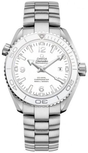 Omega Seamaster Planet Ocean White Dial Midsize Watch 232.30.38.20.04.001