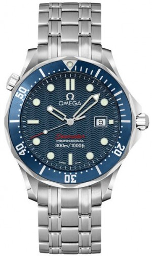 Omega Seamaster Quartz Blue Dial Men's Watch 2221.80.00