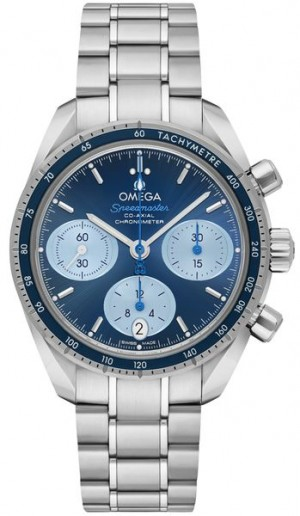 Omega Speedmaster 38 Orbis Blue Dial Men's Watch 324.30.38.50.03.002