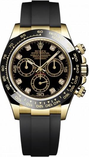 Rolex Cosmograph Daytona 18k Yellow Gold Men's Watch 116518LN