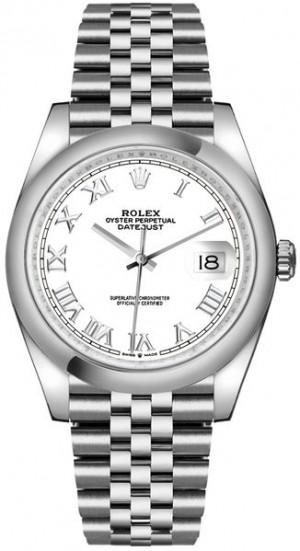 Rolex Datejust 36 Jubilee Bracelet Steel Men's Watch 126200