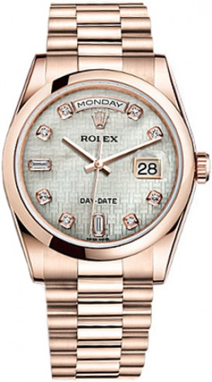 Rolex Day-Date 36 Men's Automatic Watch 118205