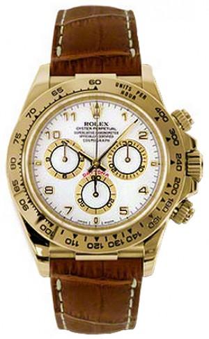 Rolex Cosmograph Daytona Yellow Gold Men's Watch 116518