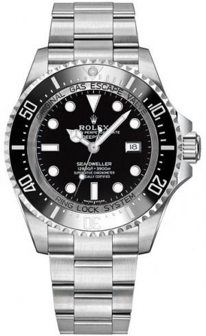 Rolex Deepsea Black Dial Men's Watch 116660