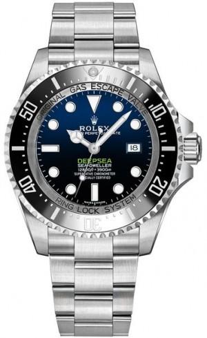 Rolex Deepsea D-Blue Dial Luxury Men's Watch 116660