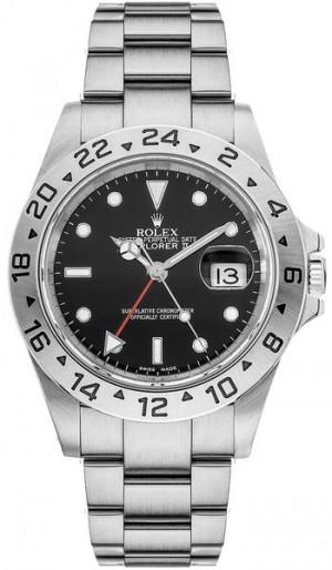 Rolex Explorer II Black Dial 40mm Men's Watch 16570