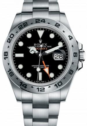 Rolex Explorer II Stainless Steel Men's Watch 216570