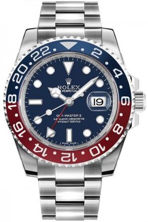 Rolex GMT-Master II Blue Dial Men's Watch 116719BLRO