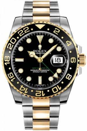 Rolex GMT-Master II Black Men's Watch 116713