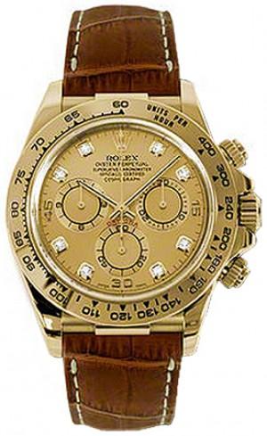 Rolex Cosmograph Daytona Champagne Dial Watch 116518