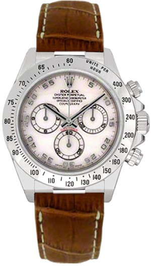 Rolex Cosmograph Daytona Mother of Pearl Dial Men's Watch 116519