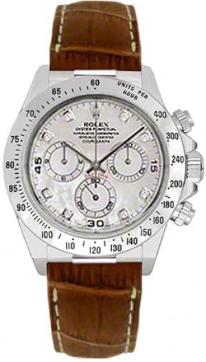 Rolex Cosmograph Daytona Diamond Dial Men's Watch 116519
