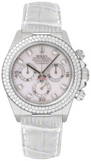 Rolex Cosmograph Daytona White Gold Watch 116589