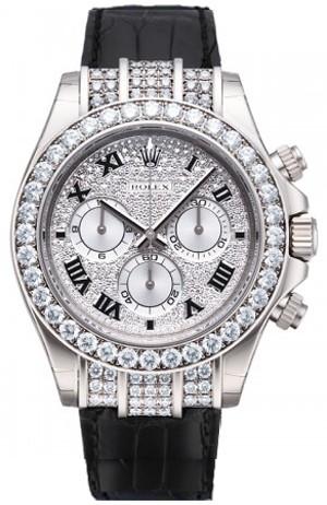 Rolex Cosmograph Daytona White Gold Watch 116599