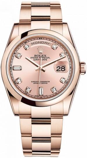Rolex Day-Date 36 Gold Watch 118205