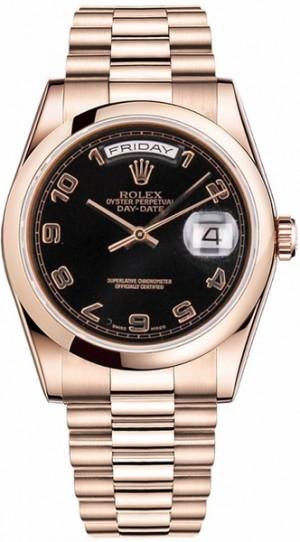 Rolex Day-Date 36 Rose Gold Watch 118205